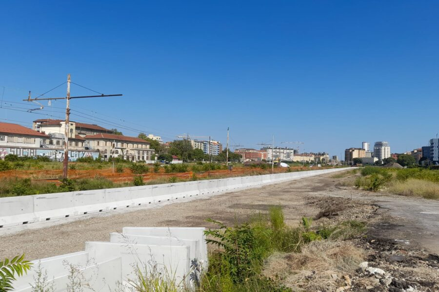 Posa New Jersey nuovo cantiere Milano